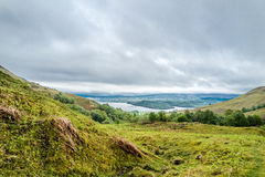 Loch Etive seen from Ardchattan, Argyll Royalty Free Stock Images