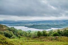 Loch Etive seen from Ardchattan, Argyll Stock Image