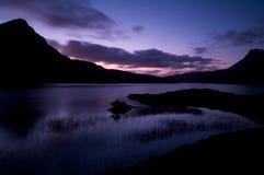 Loch fait au hasard Image libre de droits