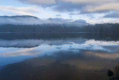 Loch Faskally Royalty-vrije Stock Foto's