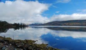 Loch Fyne, Schottland lizenzfreies stockbild