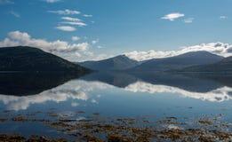 Loch fynne Schottland lizenzfreies stockfoto