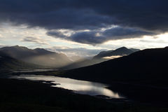 Loch garry Stock Photography