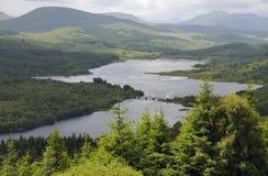 Loch Garry fotografie stock libere da diritti