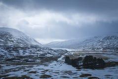 Loch Garry images libres de droits