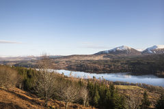 Loch Garry at Lochaber in the Scottish Highlands. Stock Images
