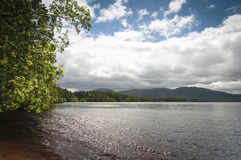 Loch Garten. In the Cairngorms National Park, Badenoch and Strathspey, Scotland stock photos