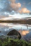 Loch Garten in the Cairngorms National Park. Loch Garten in the Cairngorms National Park of Scotland stock photo