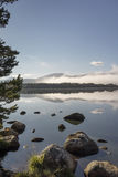 Loch Garten in the Cairngorms. Royalty Free Stock Photography