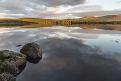 Loch Garten in the Cairngorms National Park. Loch Garten in the Cairngorms National Park of Scotland Royalty Free Stock Photo