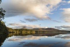 Loch Garten in the highlands of Scotland. Loch Garten in the Cairngorms National Park of Scotland royalty free stock photo