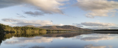 Loch Garten in the highlands of Scotland. Loch Garten in the Cairngorms National Park of Scotland royalty free stock image