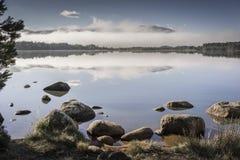 Loch Garten in Scotland. Loch Garten in the Cairngorms national park of Scotland royalty free stock image