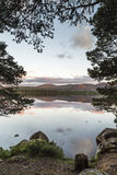 Loch Garten in Scotland. Loch Garten in the Cairngorms National Park of Scotland Stock Photography