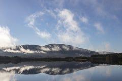 Loch Garten w Cairngorms parku narodowym Szkocja obraz stock