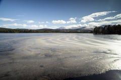 Loch Garten w Cairngorms parku narodowym Szkocja zdjęcia royalty free