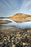 Loch  Glascarnoch in the Highlands of Scotland. Royalty Free Stock Image