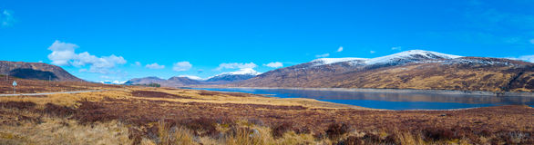 Loch Glascarnoch Valley Royalty Free Stock Image