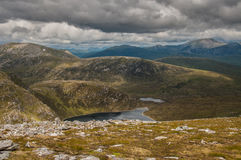 Loch Gorm, in The Fannichs Royalty Free Stock Photography
