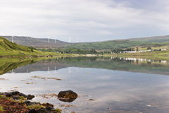 Loch Greshornish, île de Skye Photos stock