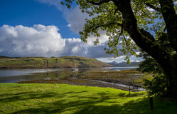 Loch Harport scene Stock Photo