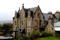 Loch het centrum van Ness en tentoonstelling, Schotland Stock Afbeeldingen