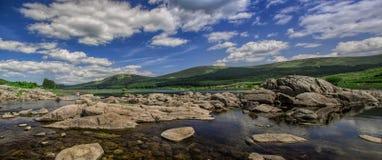 Loch het landschap van Doon Stock Afbeeldingen