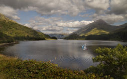 A Loch in the Highlands Stock Photography