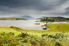 Loch Hourn and Ornsay Royalty Free Stock Photos