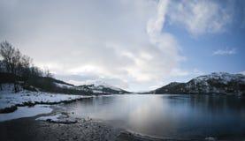 Loch iubhair Stock Image