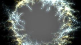 Loch 4k des Blitzes, Wormhole, Himmelsparadies-Strahlntunnel, Universumseelenkanal lizenzfreie abbildung