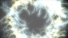 Loch 4k des Blitzes, Wormhole, Himmelsparadies-Strahlntunnel, Universumseelenkanal stock abbildung