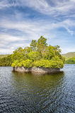Loch Katrine Factors Isle fotos de stock