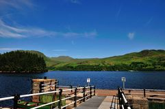 Loch Katrine from Stronachlachar Pier. Stock Images