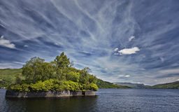 Loch Katrine landscape Royalty Free Stock Photos
