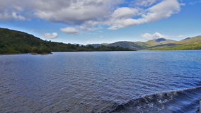 Loch Katrine, Scottish Highlands stock video