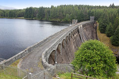 Loch Laggan dam, Highlands Stock Photography