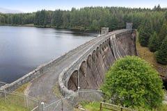 Loch Laggan dam, Highlands Stock Photography
