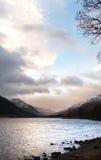 Loch Laggan, Escócia Fotos de Stock Royalty Free