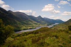 Loch Leven. Scotland, Loch Leven, Highlands in summer Stock Images