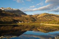 Loch Leven Stockfoto