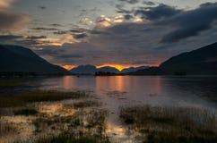 Loch Leven Imagens de Stock