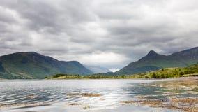 Loch Leven Lizenzfreie Stockfotos