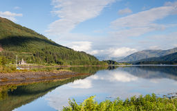 Loch Leven Lizenzfreies Stockfoto