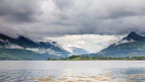 Loch Leven Lizenzfreies Stockbild