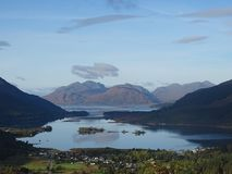 Loch Leven. A beautiful Scottish loch royalty free stock photography