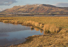 Loch Leven and the Lomond Hills Stock Photography