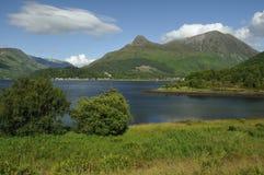 Loch Leven & Pap of Glencoe Stock Image