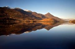Loch Leven średniogórza Zdjęcia Stock