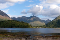 Loch Leven in Scotland Royalty Free Stock Image